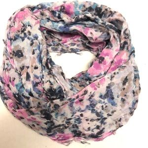 American eagle infinity scarf flower watercolor